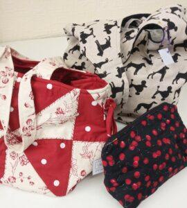 Patchwork bag & other bags